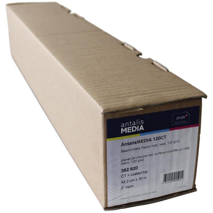 Antalis Plotter paper Media 100/120/140CT 91.4 cm x 30 m, 120 gm²