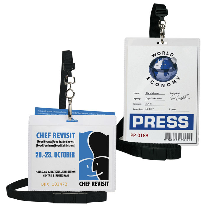 3L  Badge with lanyard