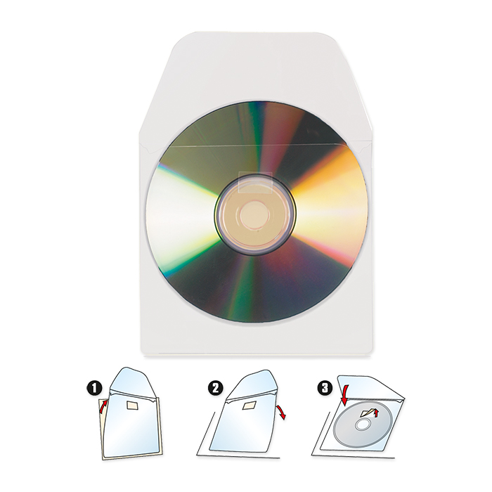 3L CD/DVD Protective covers