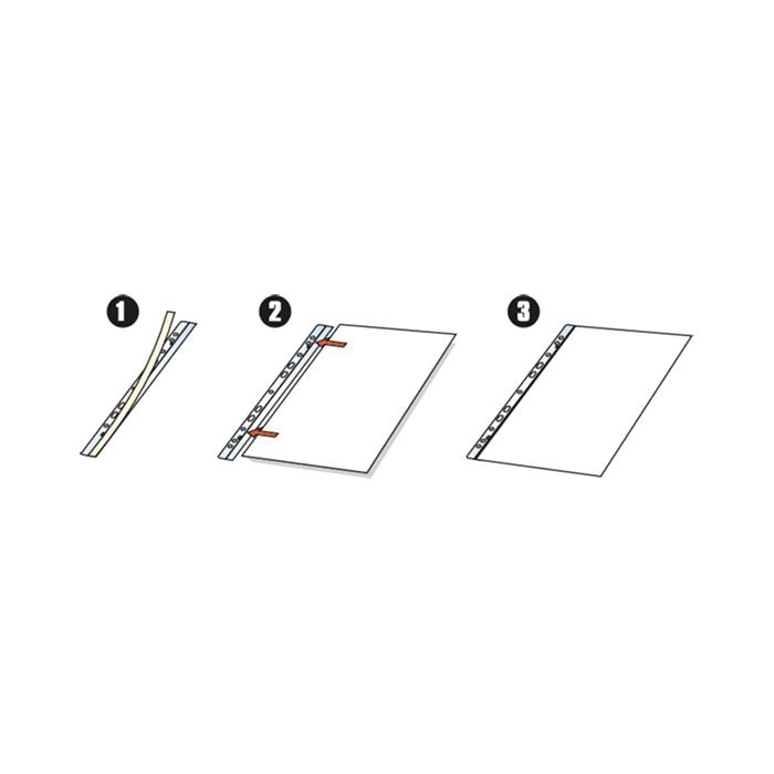 3L Filing-Strip  Booklet strip