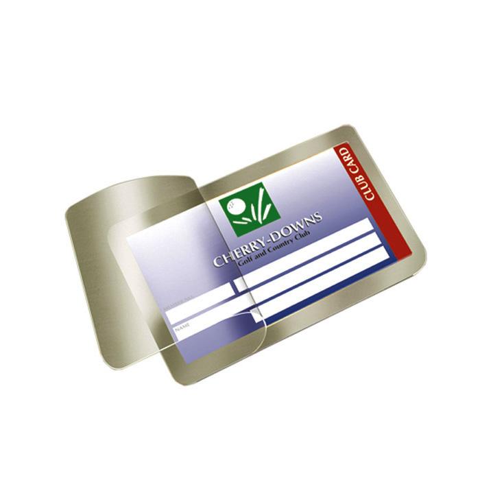 3L Laminated transparent pockets Seal-up-Cards