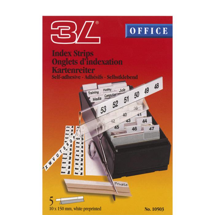 3L Self-adhesive tabs Index Strips