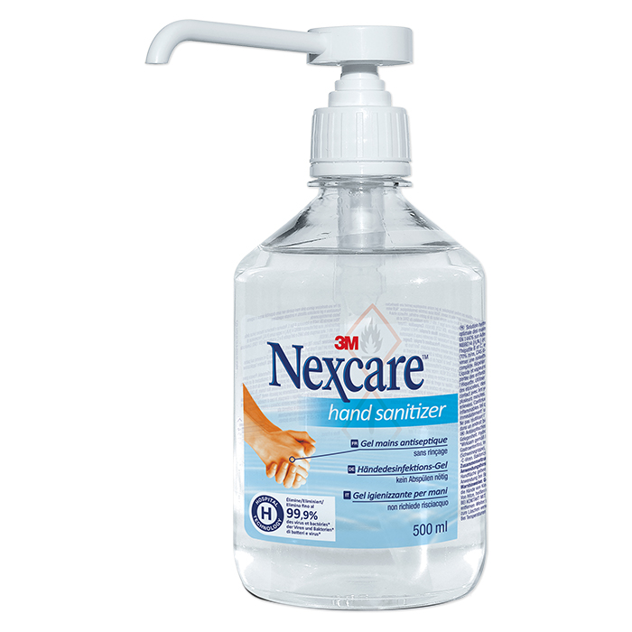 3M Nexcare gel mains antiseptique