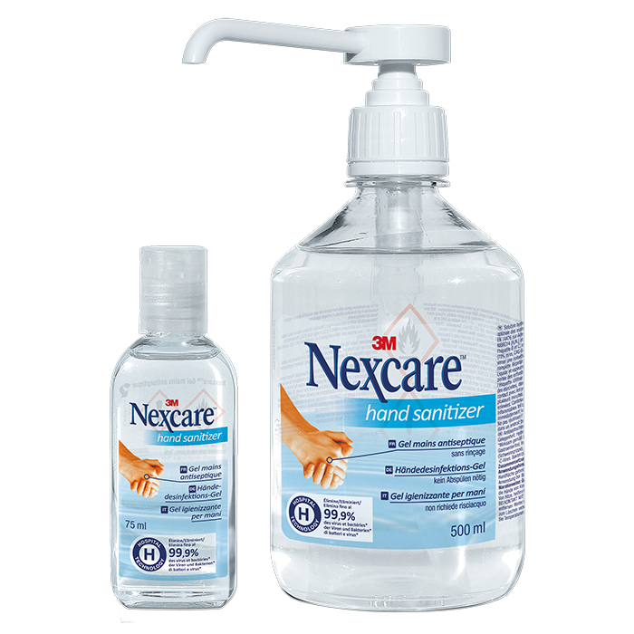 3M Nexcare gel mains antiseptique