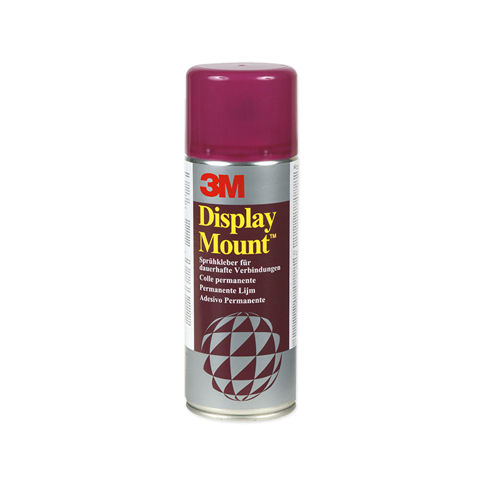 3M Spray glue Display Mount