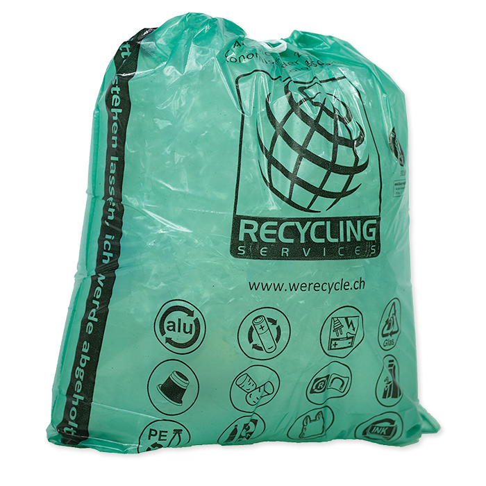 Recycle collection bag