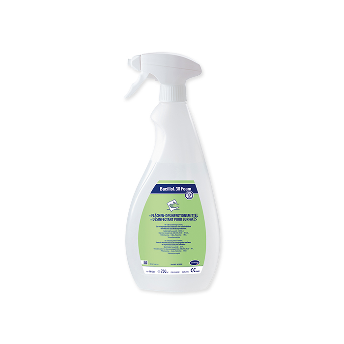 Antibacterial surfaces cleaning