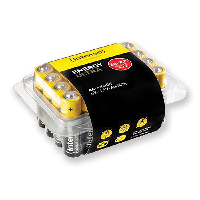 Intenso Alkaline Batteries