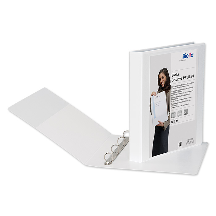 Presentation ring binder
