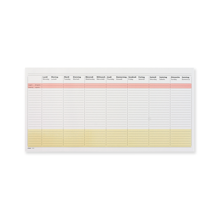 Weekly- /  Yearly planner