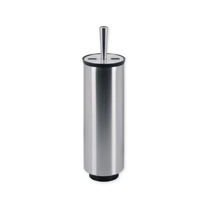Accessorio per WC Brabantia in acciaio opaco