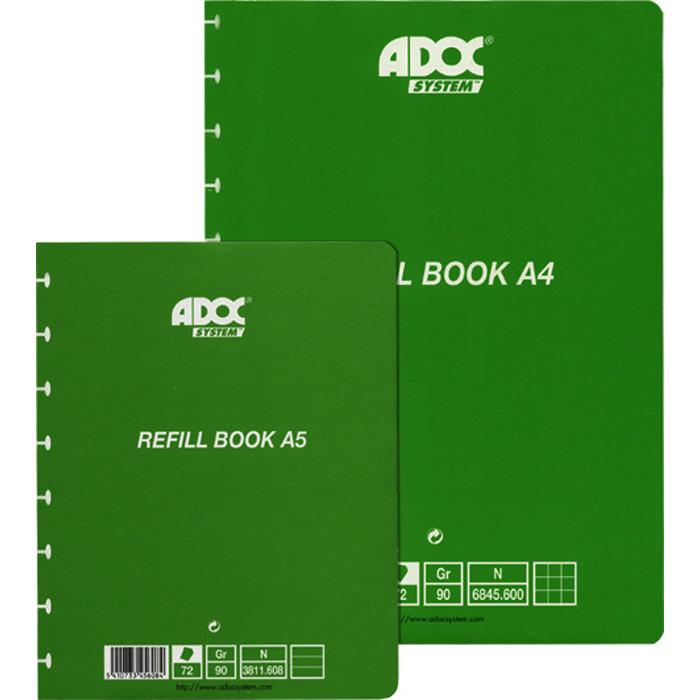 Adoc Ringheft Pap-Ex Ersatzblätter