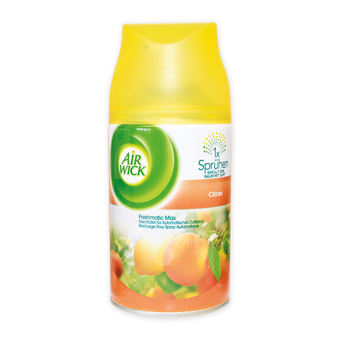 AirWick Diffuseur de parfum Refill recharge Citron, 250 ml