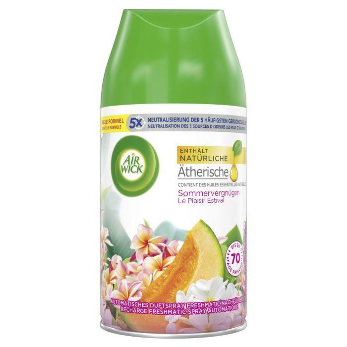 AirWick Diffuseur de parfum Refill recharge le plaisir estival, 250 ml