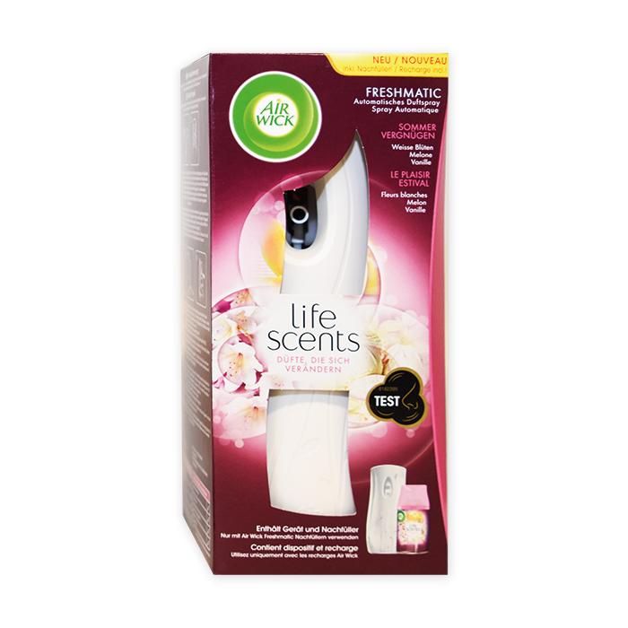 AirWick Diffuseur de parfum Fresh Matic Original Diffuseur avec recharge