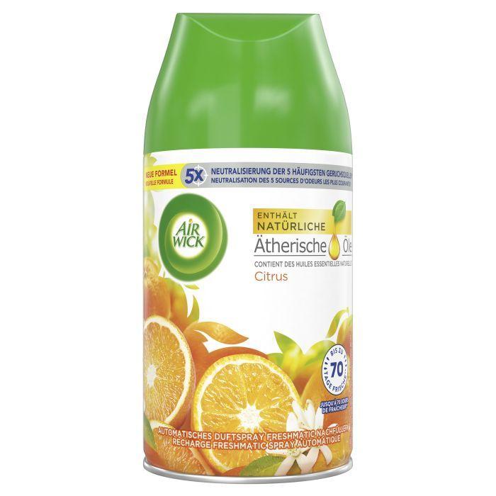 AirWick Nebulizzatore di profumo Refill ricarica limone, 250 ml
