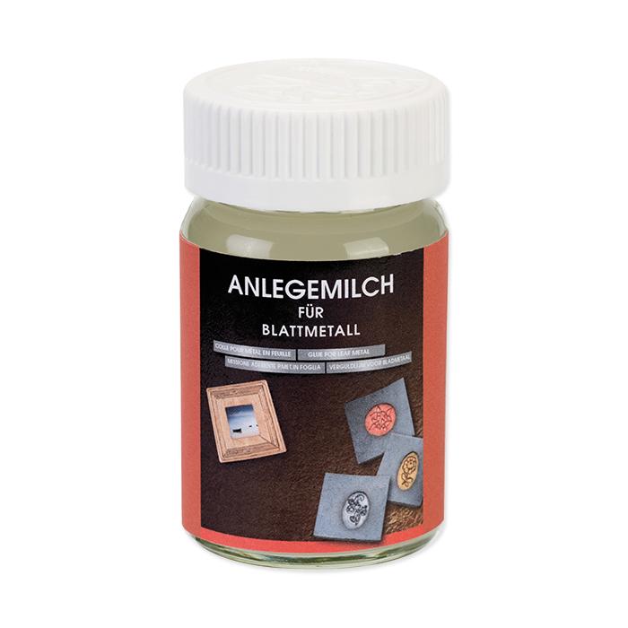 Anlegemilch für Blattmetall