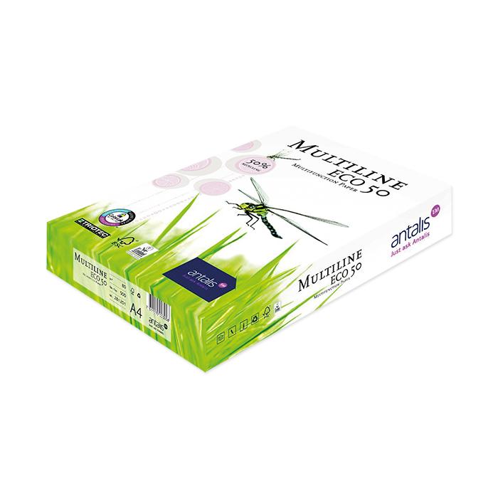 Antalis Papier Pour Photocopieur Imprimante Multiline Eco 50