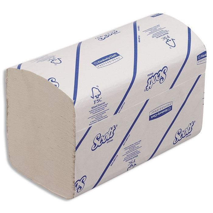 Scott Xtra Serviettes en papier 1 couches, blanco