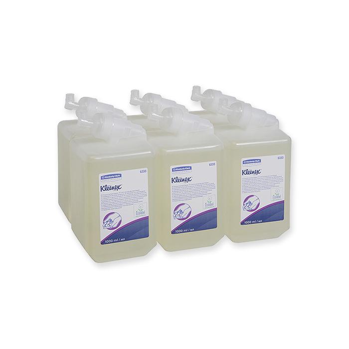 Kleenex washing lotions transparent: unscented