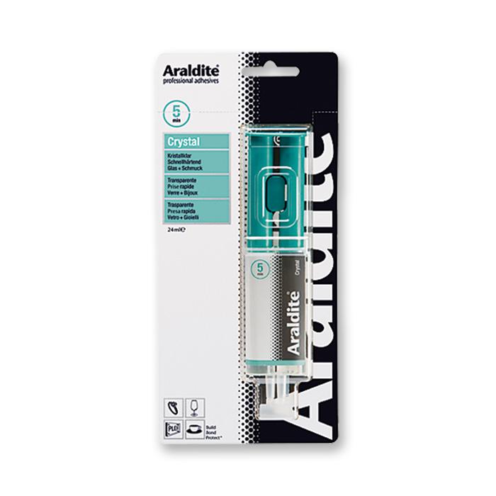 Araldite Crystal Zweikomponenten-Kleber