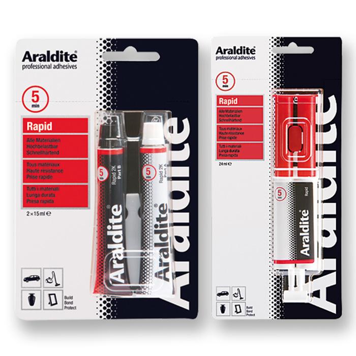Araldite Rapid Zweikomponenten-Kleber