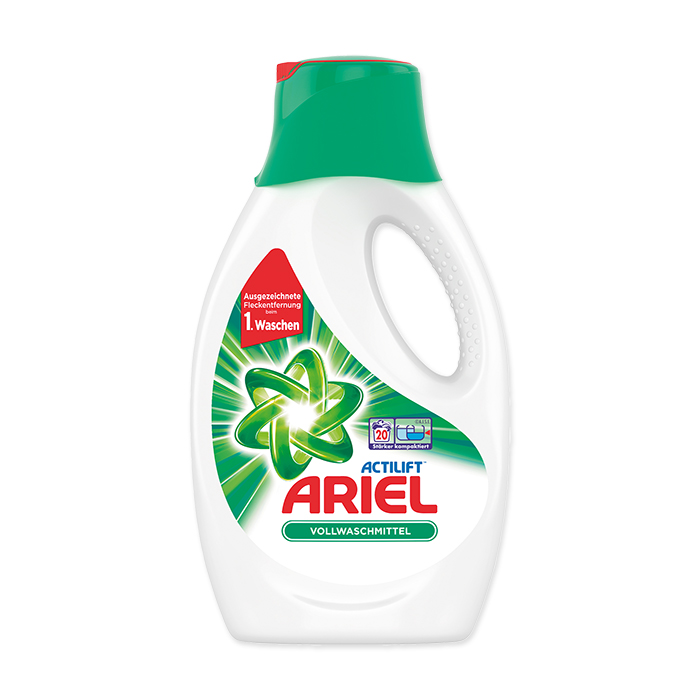 Ariel excel washing gel