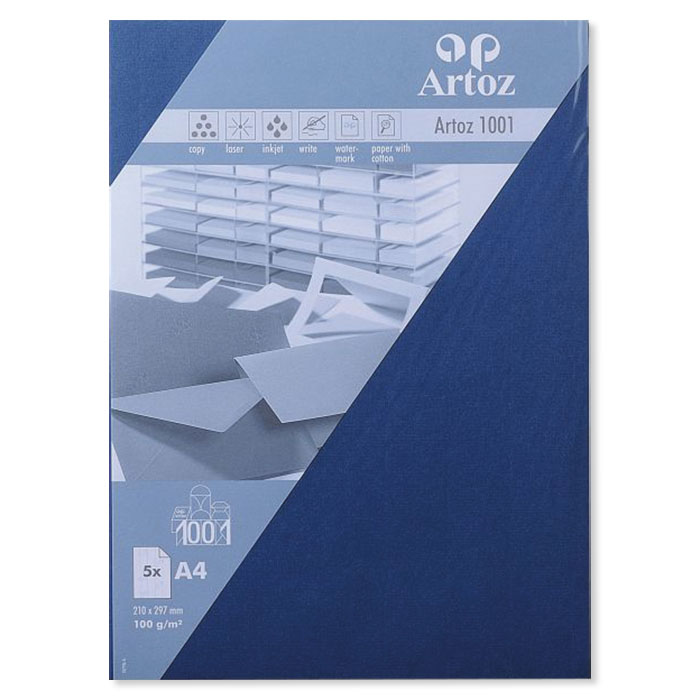 Artoz Briefbogen 1001 A4 classic blau