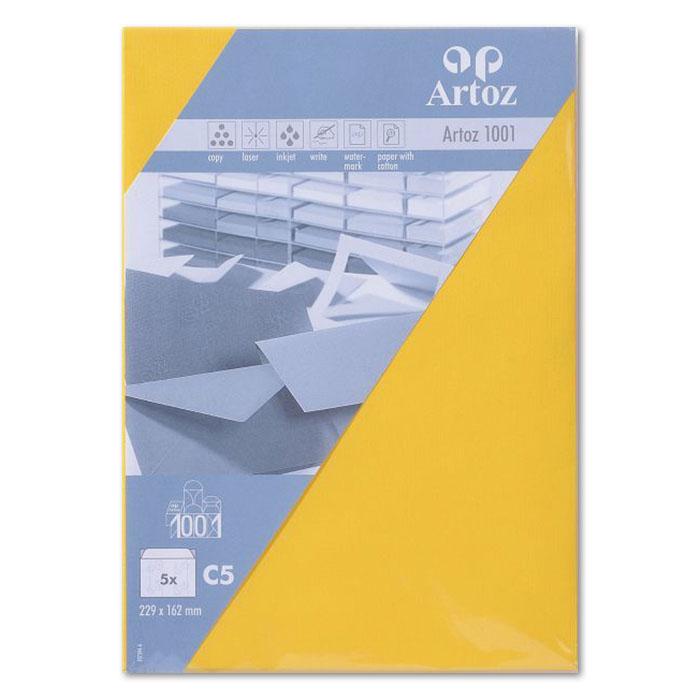 Artoz envelopes 1001   C5 yellow