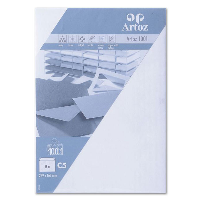 Artoz envelopes 1001   C5 white