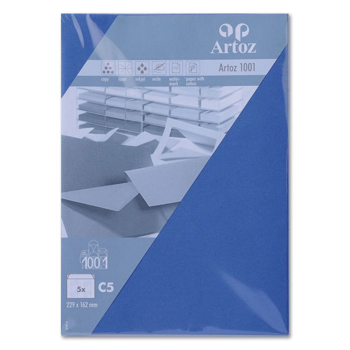 Artoz envelopes 1001   C5 royal blue
