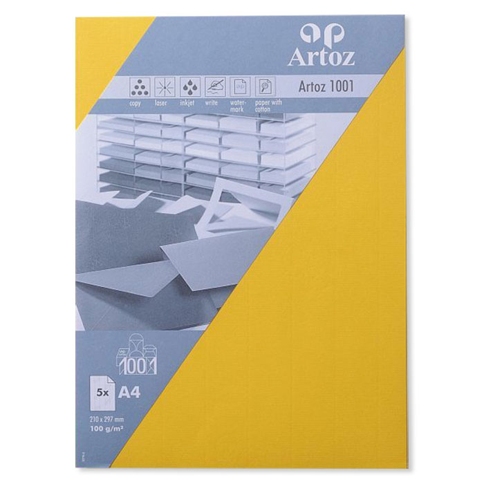Artoz Writing paper 1001  A4 yellow