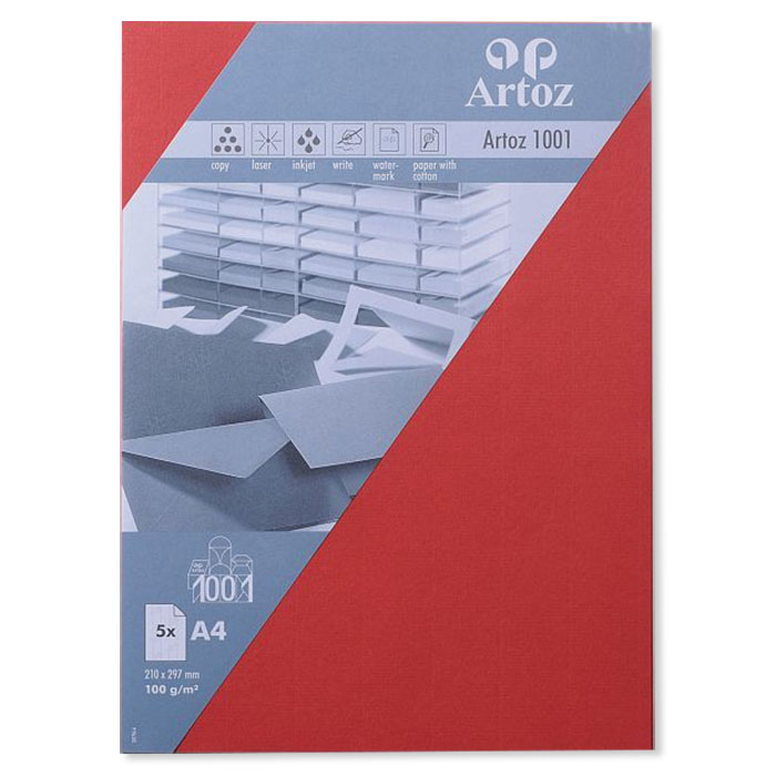 Artoz Writing paper 1001  A4 red