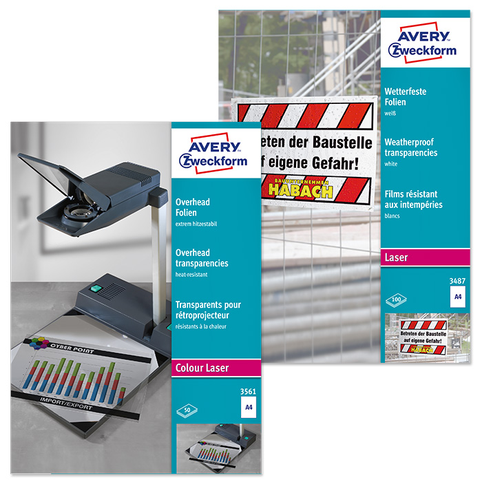 Avery Zweckform Colour laser film