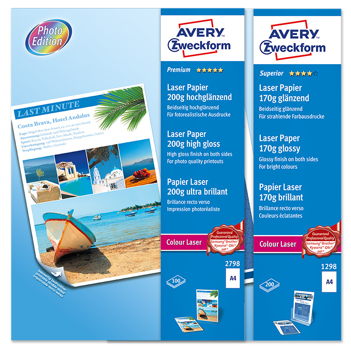 Avery Zweckform Colour laser printer paper Premium / Superior
