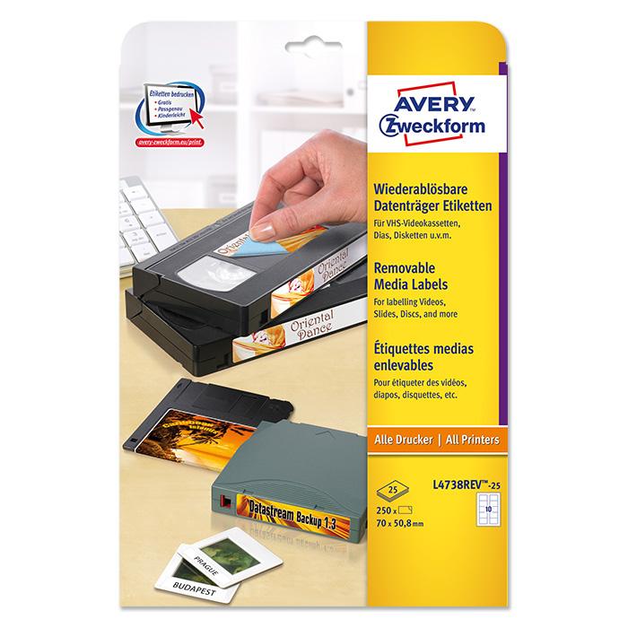Avery Zweckform Disketten-Etiketten