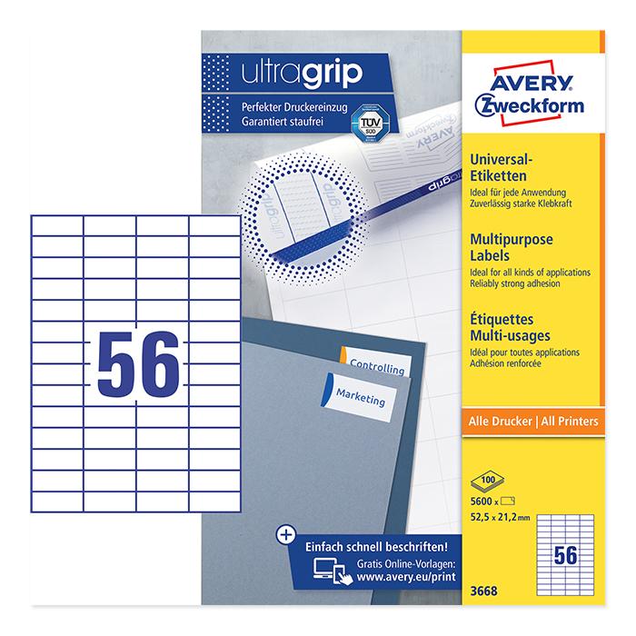 Avery Zweckform Universal-Etiketten ultragrip