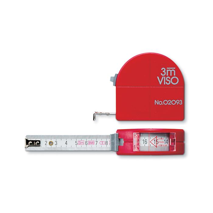BMI Rollmeter 3m Viso