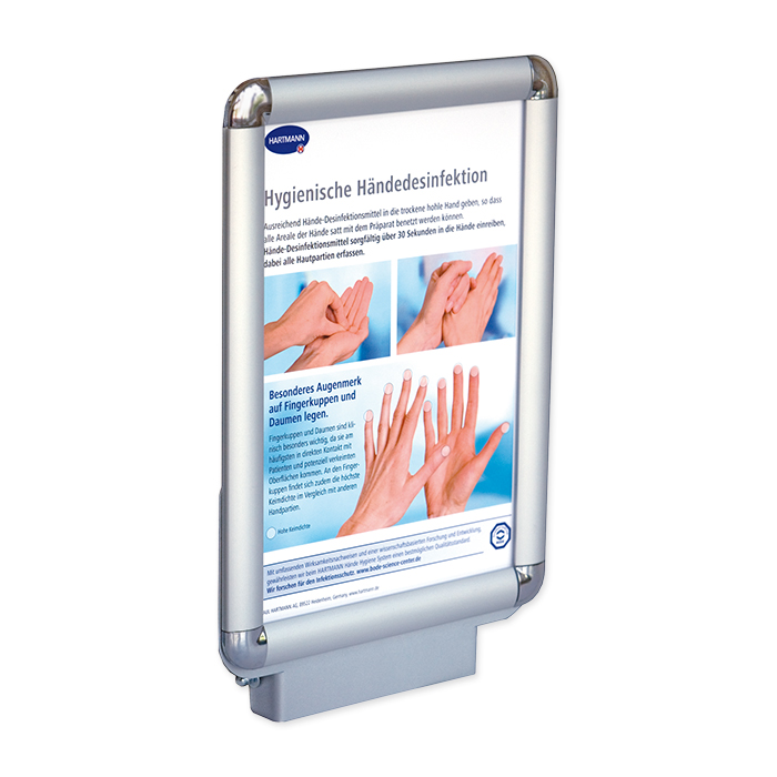 BODE Hygiene Tower Brochure holder Brochure holder