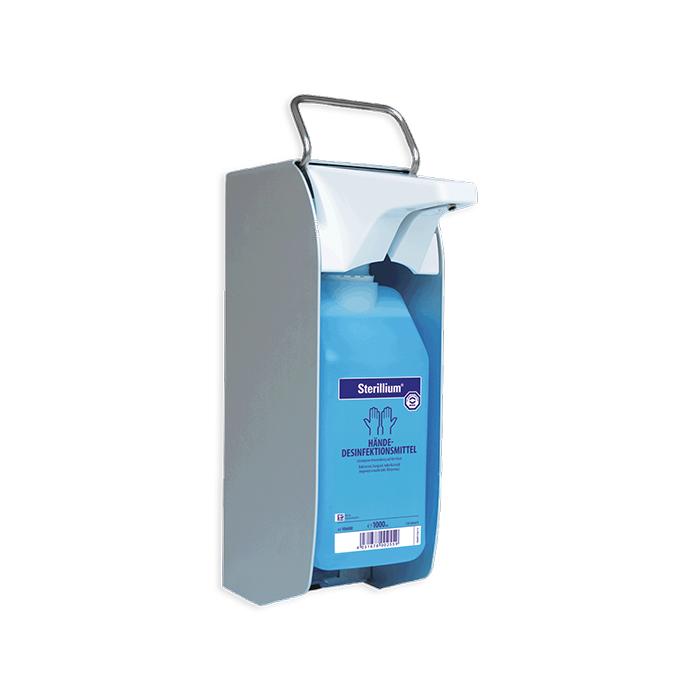 BODE Distributeur Euro 1 plus Touchless 350 ml / 500 ml Flacons, levier à bras court