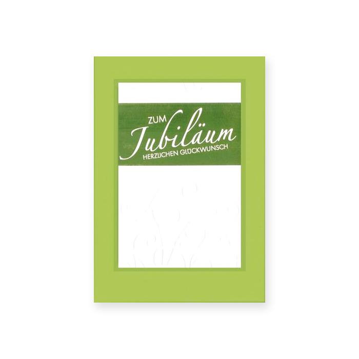 Bachmann Jubiläumskarte - Prägemuster