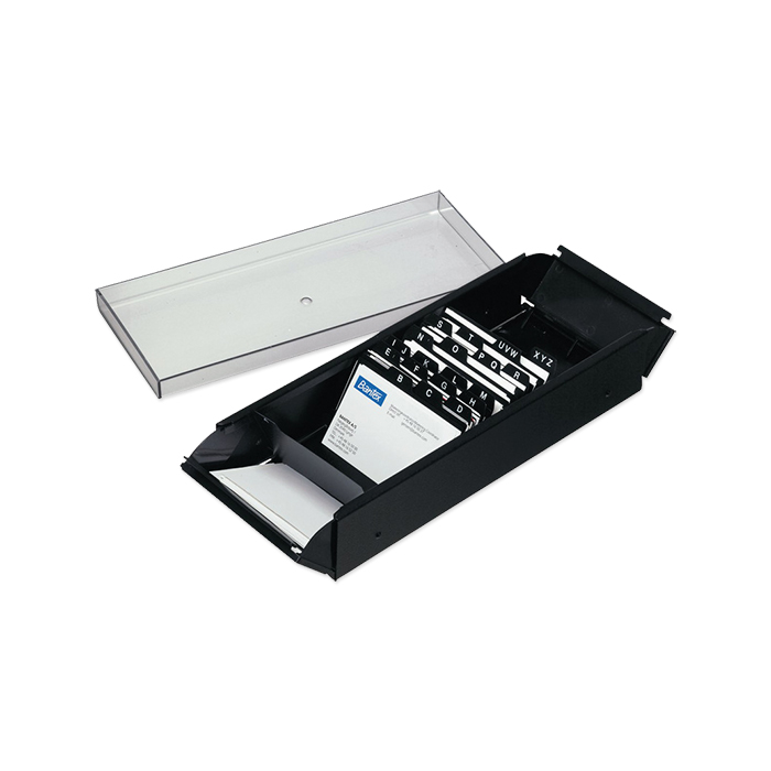 Bantex business card filing box for 600 business card online bantex business card filing box reheart Choice Image