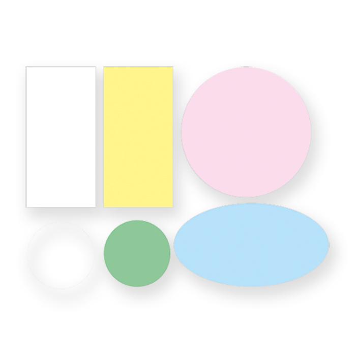 Berec Self-Adhesive Moderation Cards