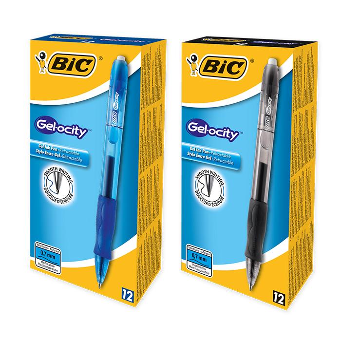 Bic Gel-Roller Gelocity