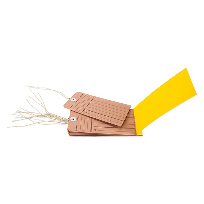 Biella Anhänge-Etiketten mit Druck