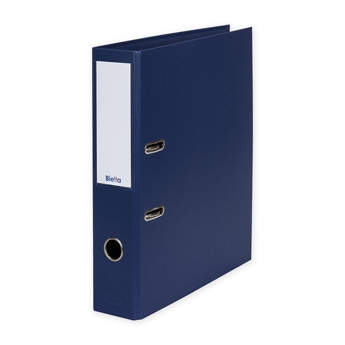 Biella Lever Arch File Recycolor 7cm, blue