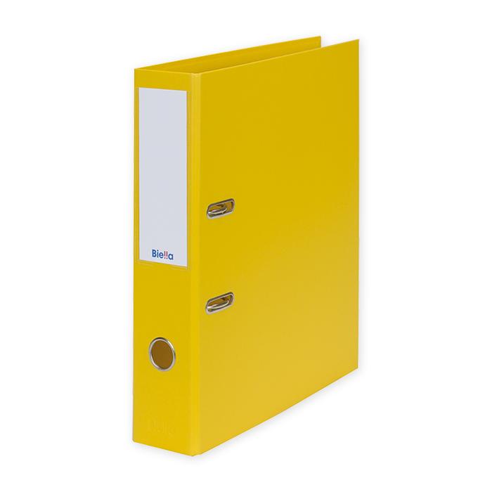 Biella Lever Arch File Recycolor 7cm, yellow