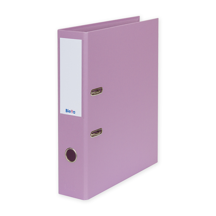 Biella Lever Arch File Recycolor 7cm, lilac