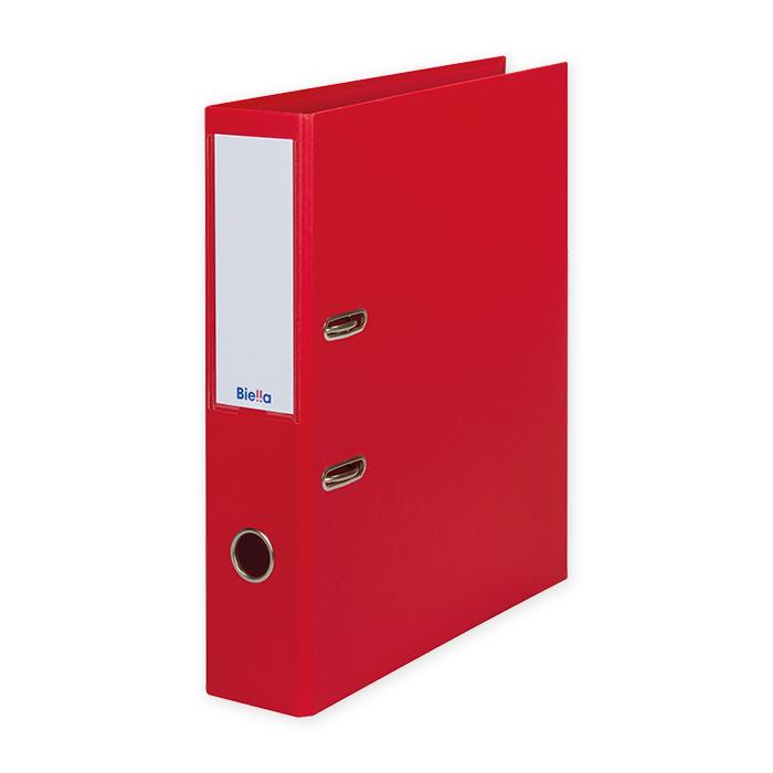 Biella Lever Arch File Recycolor 7cm, red