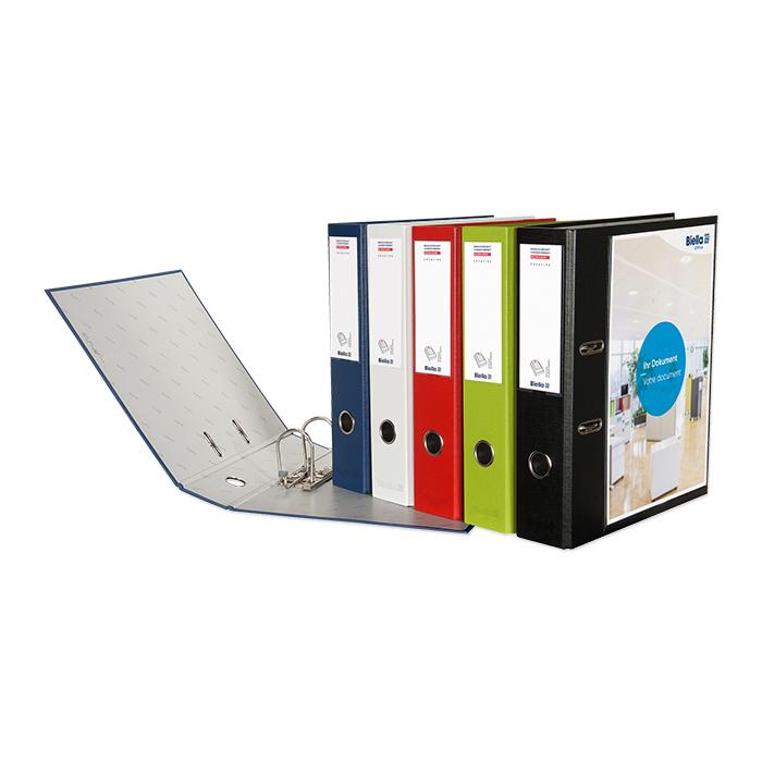 Biella Lever Arch File Creative 7 cm, white